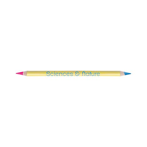 Crayon personnalisable vernis couleur fluo/fluo