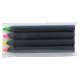 Crayon fluo personnalisable prestige black 8.7 cm