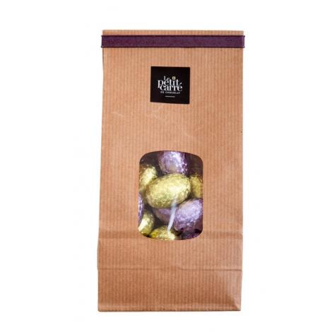Sachet personnalisé œuf en chocolat de Pâques