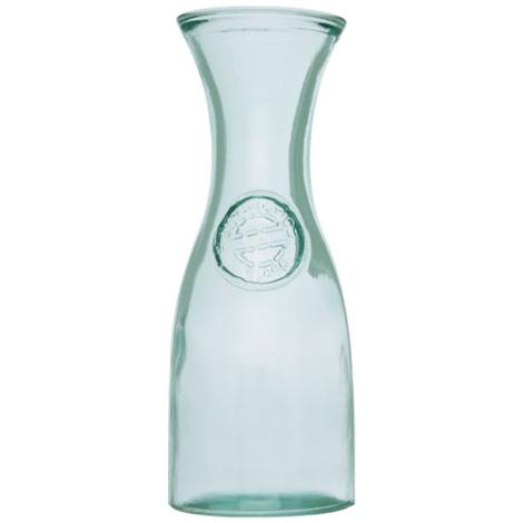 Carafe publicitaire en verre recyclé Fresco