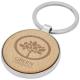 Porte-clés bois de hêtre promotionnel Moreno