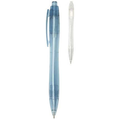 Stylo encore bleue en RPET personnalisable Alberni