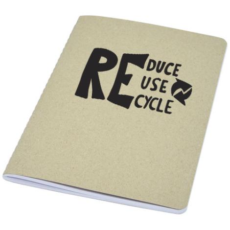 Carnet promotionnel en carton recyclé Gianna