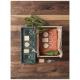 Porte-clés publicitaire bois de hêtre Gioia