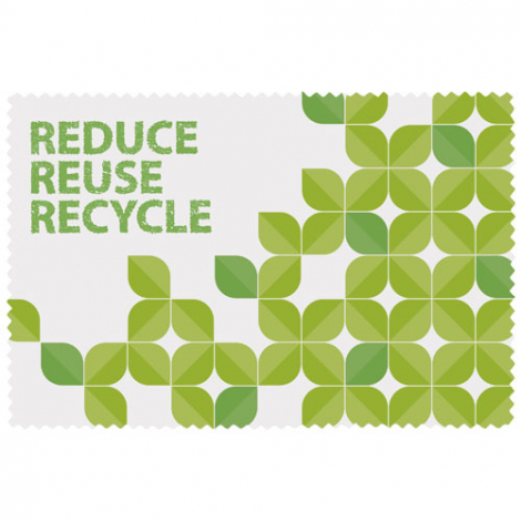 Microfibre publicitaire en PET recyclé Caro