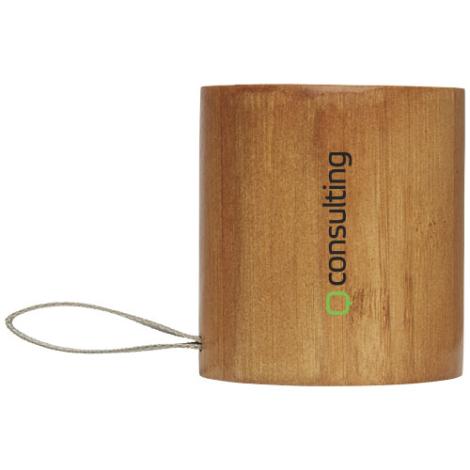 Enceinte publicitaire en bambou Lako