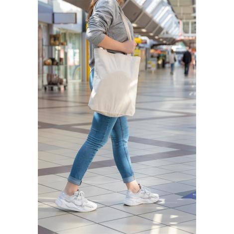 Sac shopping publicitaire Impact en coton recyclé
