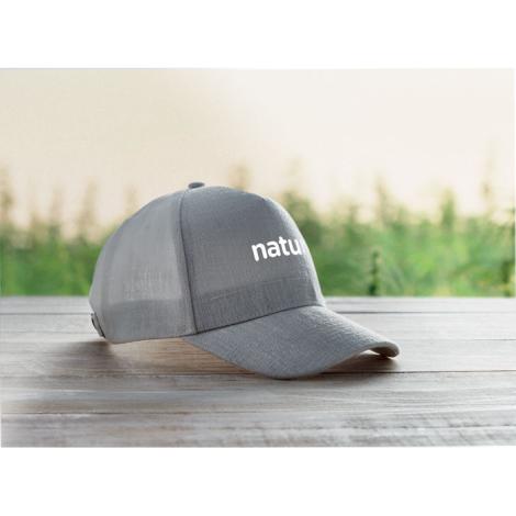 Casquette en chanvre publicitaire NAIMA