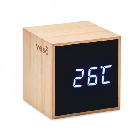 Réveil bambou design personnalisé MARA CLOCK