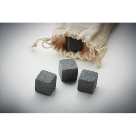 Cube de glace en pierre personnalisé ROCKS