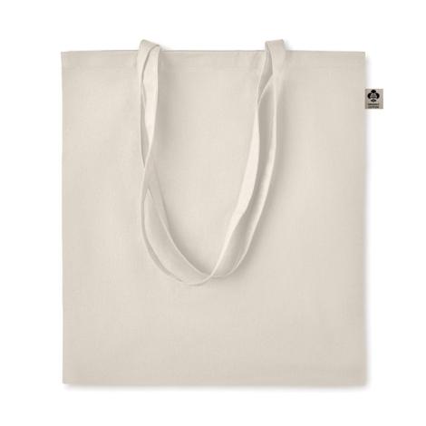 Sac shopping coton bio publicitaire 140 gr ZIMDE