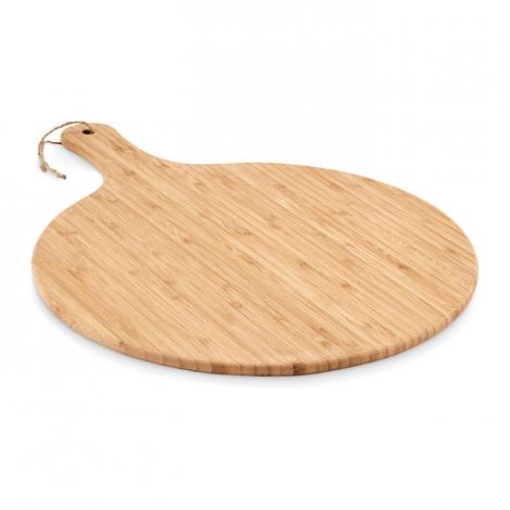 Planche à découper publicitaire en bambou