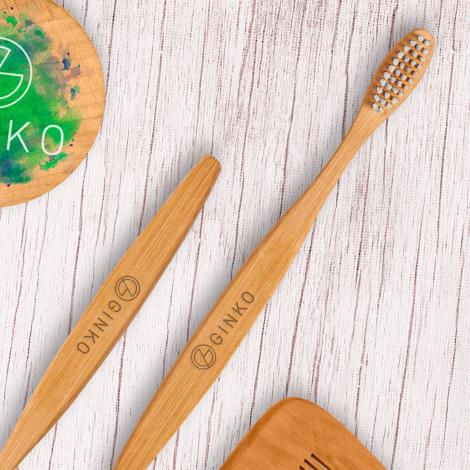 Brosse à dent en bambou personnalisable - Habitat