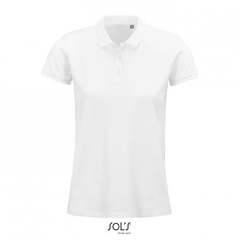 Polo coton bio femme publicitaire 170 g PLANET