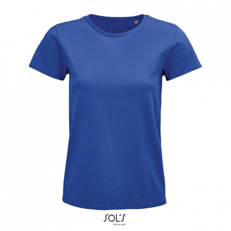 Tee shirt coton bio femme personnalisé 175 g PIONEER