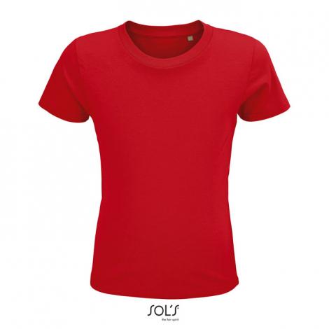 Tshirt publicitaire coton bio enfant 150 g CRUSADER