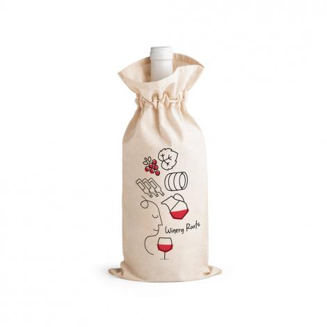 Sac à bouteille publicitaire en coton JEROME