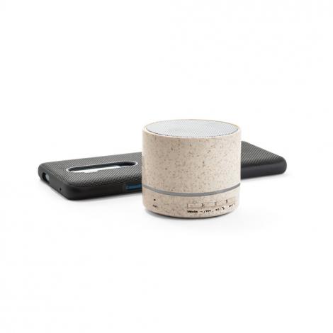 Enceinte portative en fibre de blé publicitaire 3W LINEU