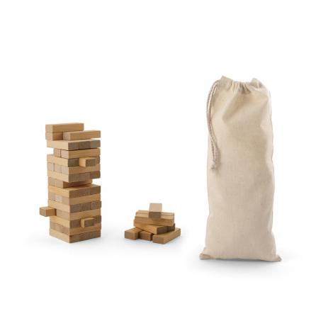 Jeu de construction en bois promotionnel FLIK