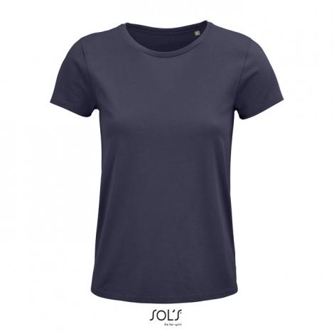 Tee shirt publicitaire coton bio femme 150 g CRUSADER