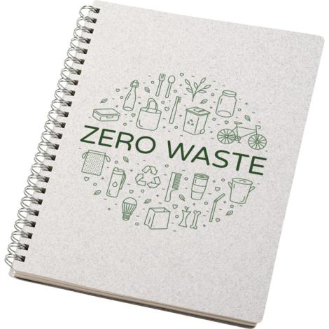 Carnet recyclé publicitaire A5 Bianco