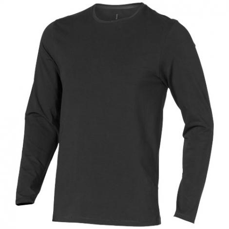 T-shirt bio personnalisé manches longues homme PONOKA