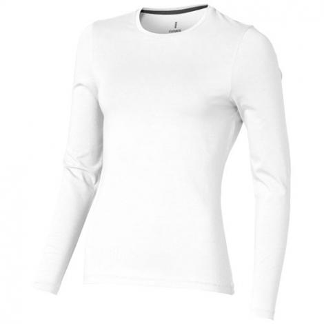 T-shirt bio personnalisé manches longues femme Ponoka