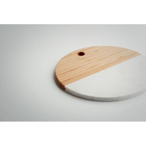 Planche marbre et bambou publicitaire HANNSU