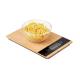 Balance de cuisine en bambou personnalisable PRECISE