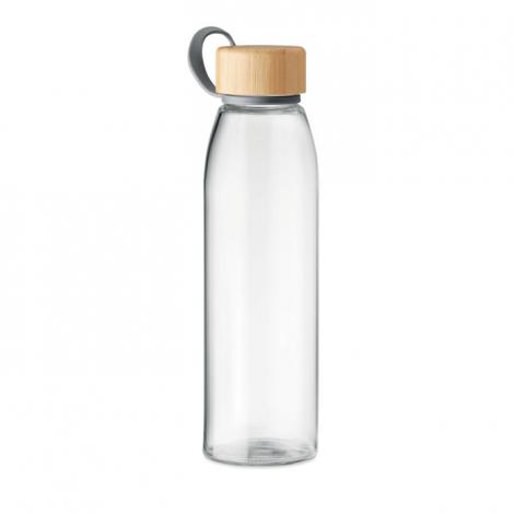 Bouteille personnalisée en verre 500 ml FJORD WHITE