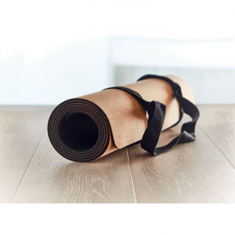Tapis de yoga en liège personnalisable SAVASANA