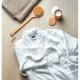 Peignoir en coton bio personnalisable M/L
