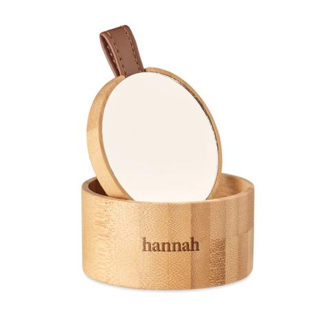 Boîte à bijoux promotionnelle avec miroir TREASURE