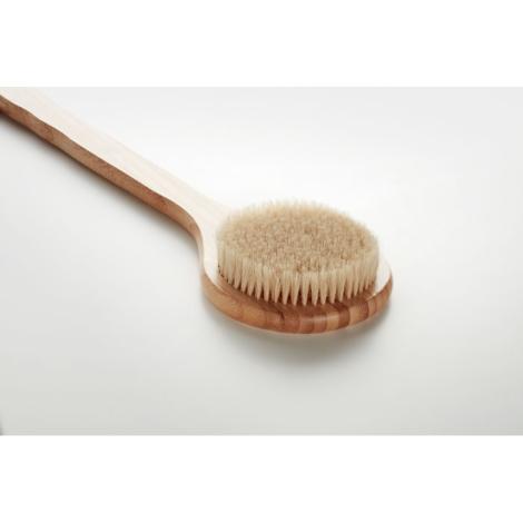 Brosse de bain promotionnelle en bambou FINO