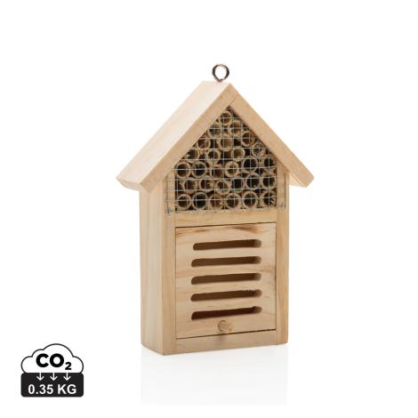 Petit hôtel à insectes personnalisé
