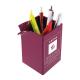 Pot à crayons en plastique publicitaire