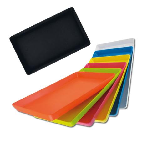 Mini plateau de présentation en plastique