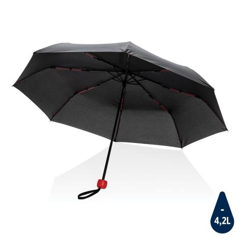 """Mini parapluie personnalisé en rPET 20.5"""" Impact"""