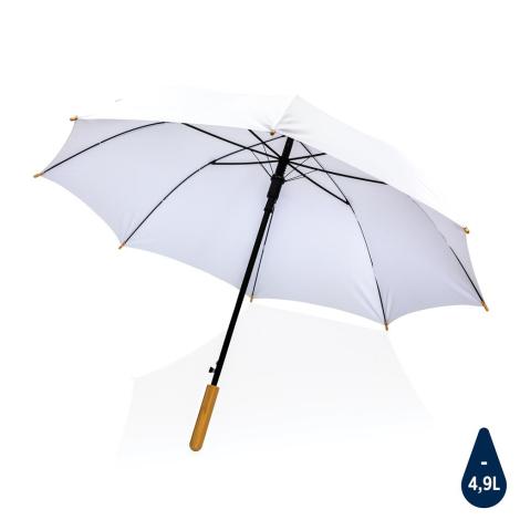 Parapluie rPET et bambou publicitaire Impact