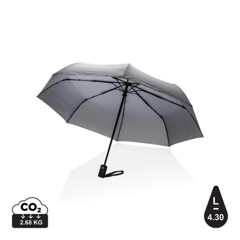 """Parapluie 21"""" en rPET personnalisé Impact"""