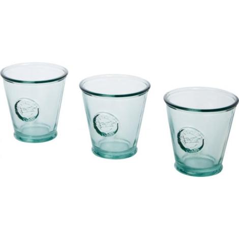 3 Verres publicitaires recyclés 250 ml COPA