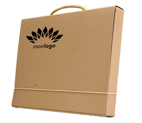 Valisette en carton recyclé