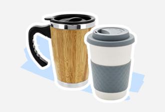 Mugs et gourdes écologiques